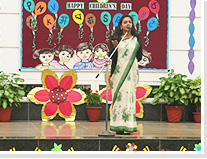 SPECIAL ASSEMBLY ON GURU NANAK JAYANTI AND CHILDREN'S DAY