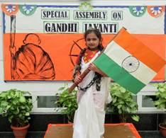 GANDHI JAYANTI CELEBRATION AT SHREERAM WORLD SCHOOL