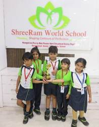 SHREERAM WORLD SCHOOL ON A WINNING STREAK
