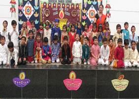 DIWALI CELEBRATIONS AT SHREERAM WORLD SCHOOL