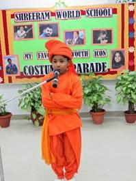 COSTUME PARADE AT SHREE RAM WORLD SCHOOL