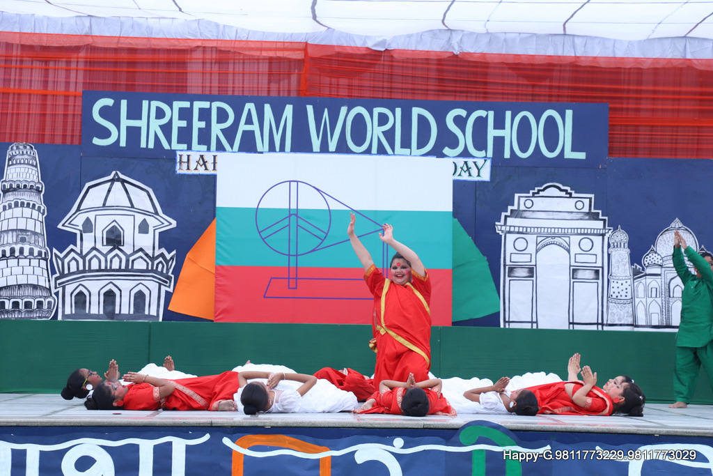 Independence Day Celebrations at ShreeRam World School