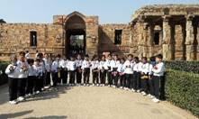 Visit to Qutub Minar