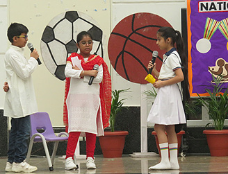 Special Assembly on National Sports Day