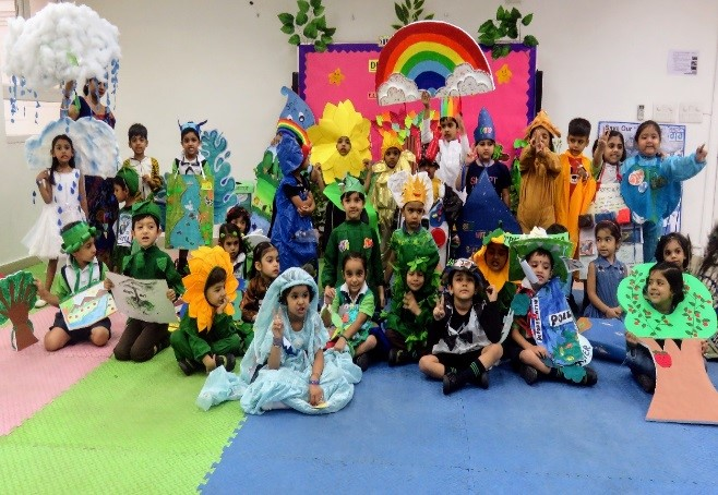 PRAKRITI-OUR PRECIOUS NATURE: Dress to Impress-Preprimary