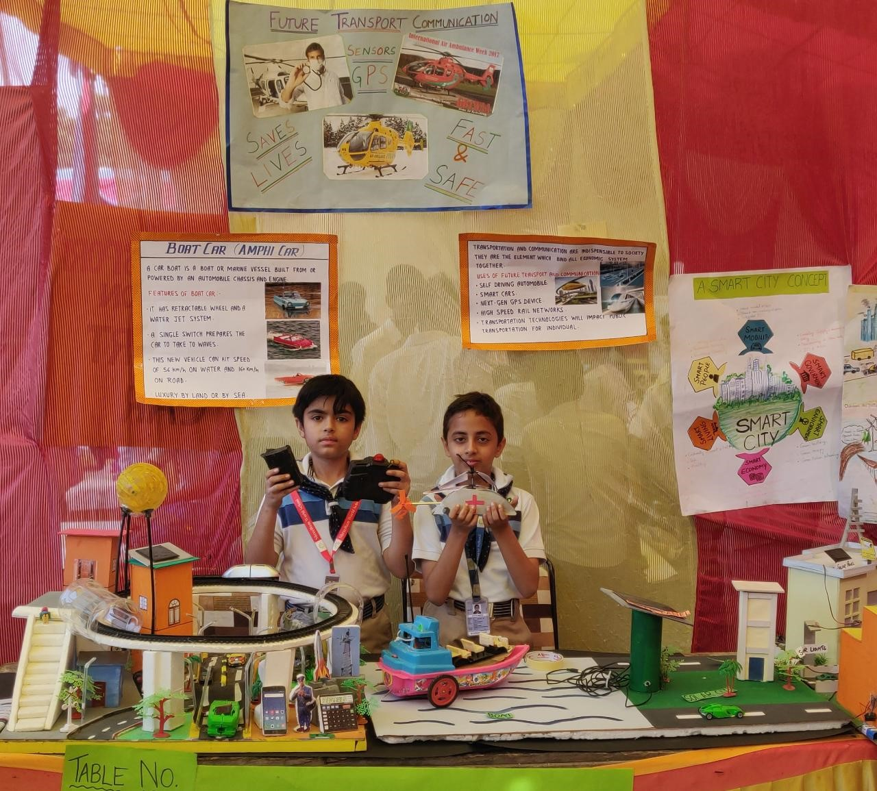ShreeRam World School shines at Central Science Exhibition 2019