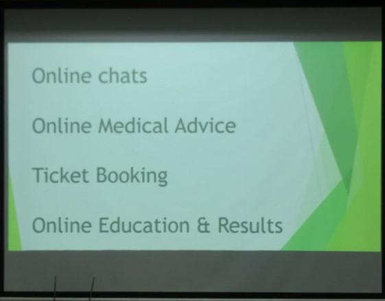 Workshop on Internet : A boon or bane