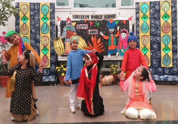 Lohri Celebrations at ShreeRam World School